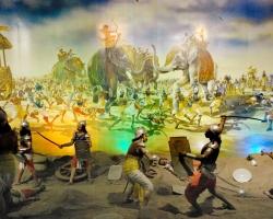 Panorama on Mahabharat-Battle of kurukshetra
